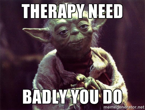 self-care, therapy, therapist, good enough therapist,