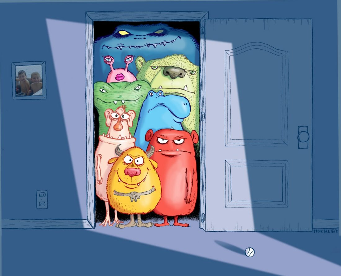 Why Cognitive Distortions are the Monsters in Your Closet